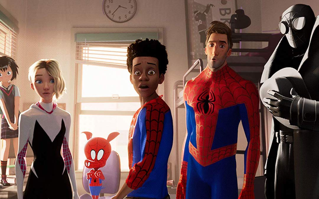 Team Spider in 'Spider-Man: Into the Spider-Verse'