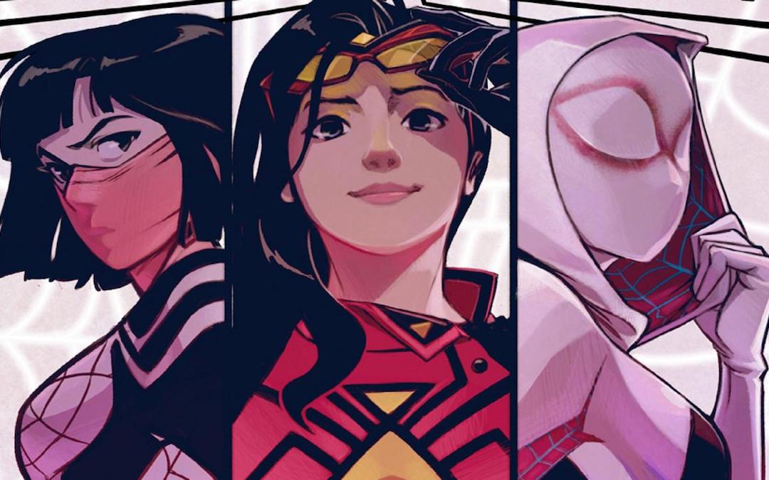 Marvel Women/'s Spider-Woman Fight Vest