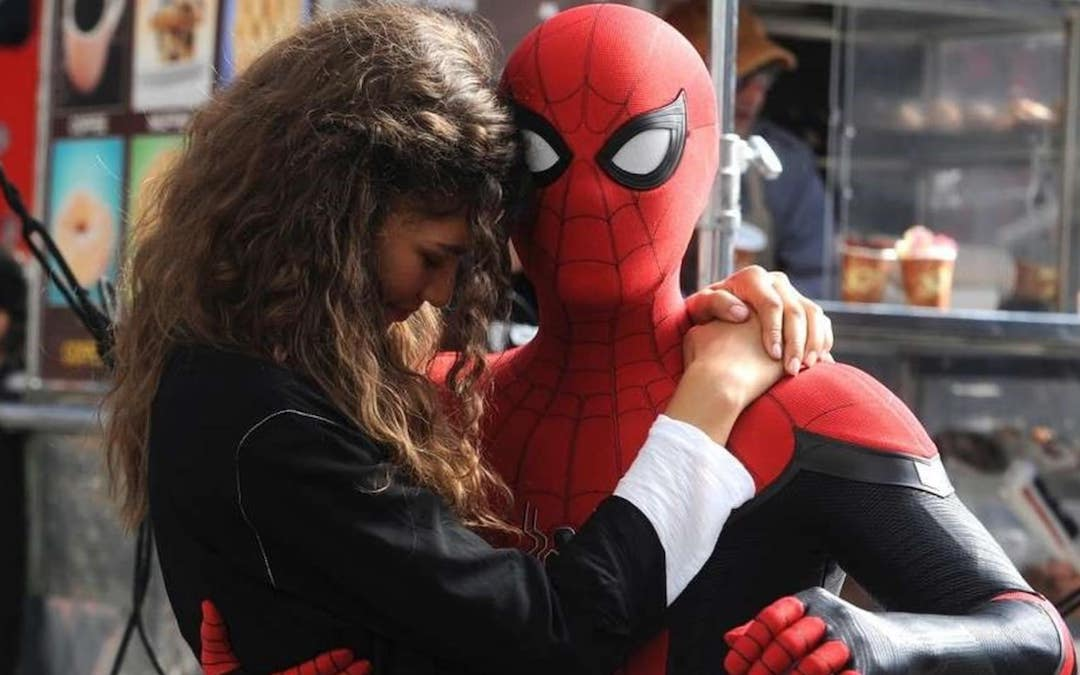 Zendaya and Tom Holland in 'Spider-Man: Far From Home' (Credit: Sony)