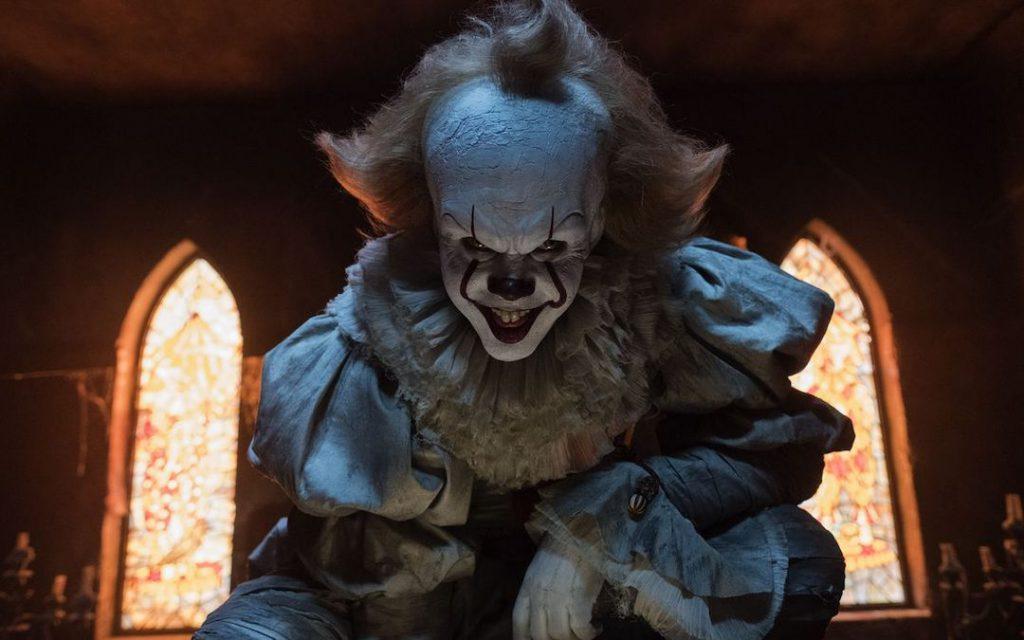 Bill Skarsgård as Pennywise in 'It' (Credit: Warner Bros.)