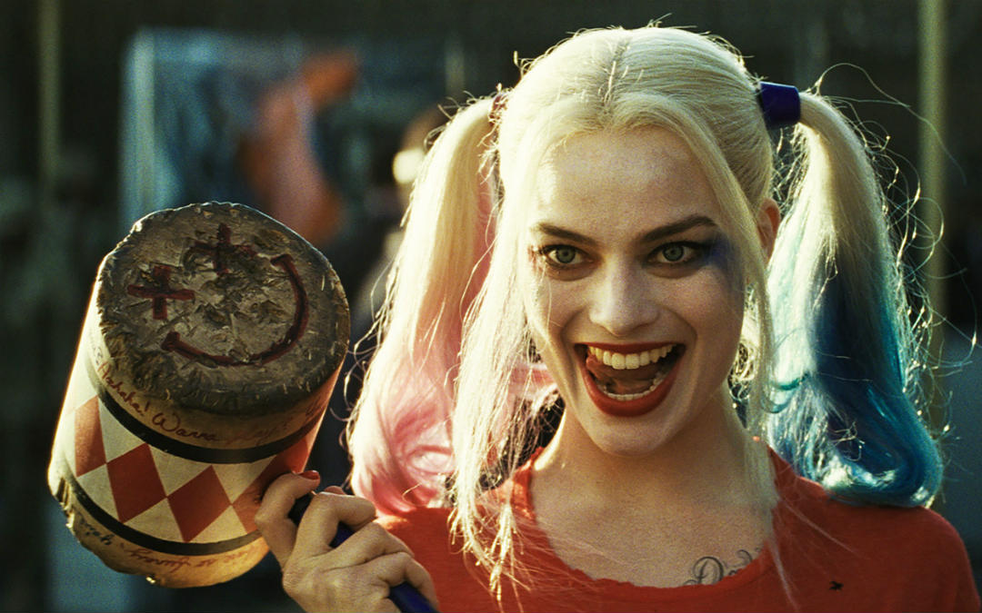 Margot Robbie as Harley Quinn in 2016's 'Suicide Squad' (Credit: Warner Bros.)