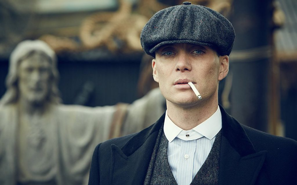 Cillian Murphy as Tommy Shelby in 'Peaky Blinders' (Credit: Netflix)
