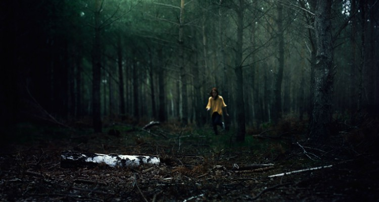 Lost in the woods in 'The Girl Who Loved Tom Gordon' (Courtesy: Simon & Schuster)