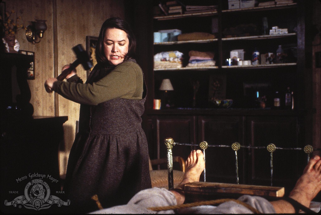 Kathy Bates as the murderous Annie Wilkes in 'Misery' (Courtesy: Columbia Pictures)