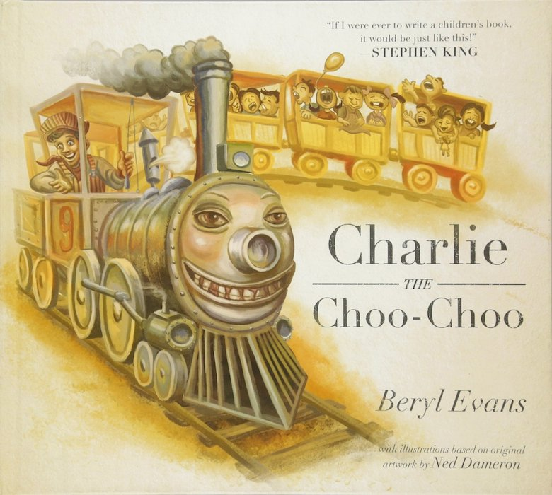 Charlie the Choo-Choo, the fictional real-world inspiration for Blaine the Mono