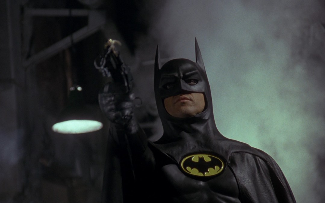 Michael Keaton as Batman in Tim Burton's 1989 'Batman' (Courtesy: Warner Bros.)
