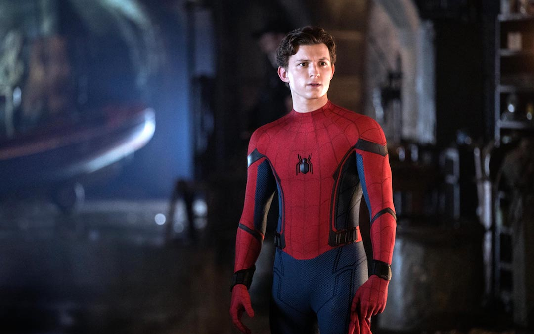 Tom Holland as Spider-Man in 'Spider-Man: Far From Home' (Credit: Sony/Marvel)