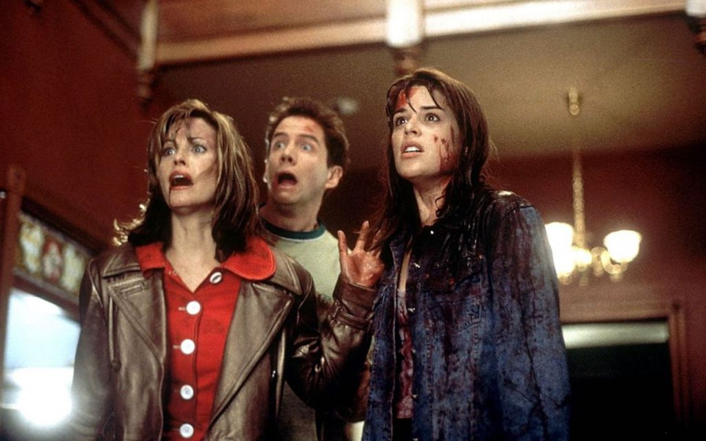 Gale Weathers, Randy Meeks, and Sidney Prescott in the 'Scream' series (Courtesy: Lionsgate)