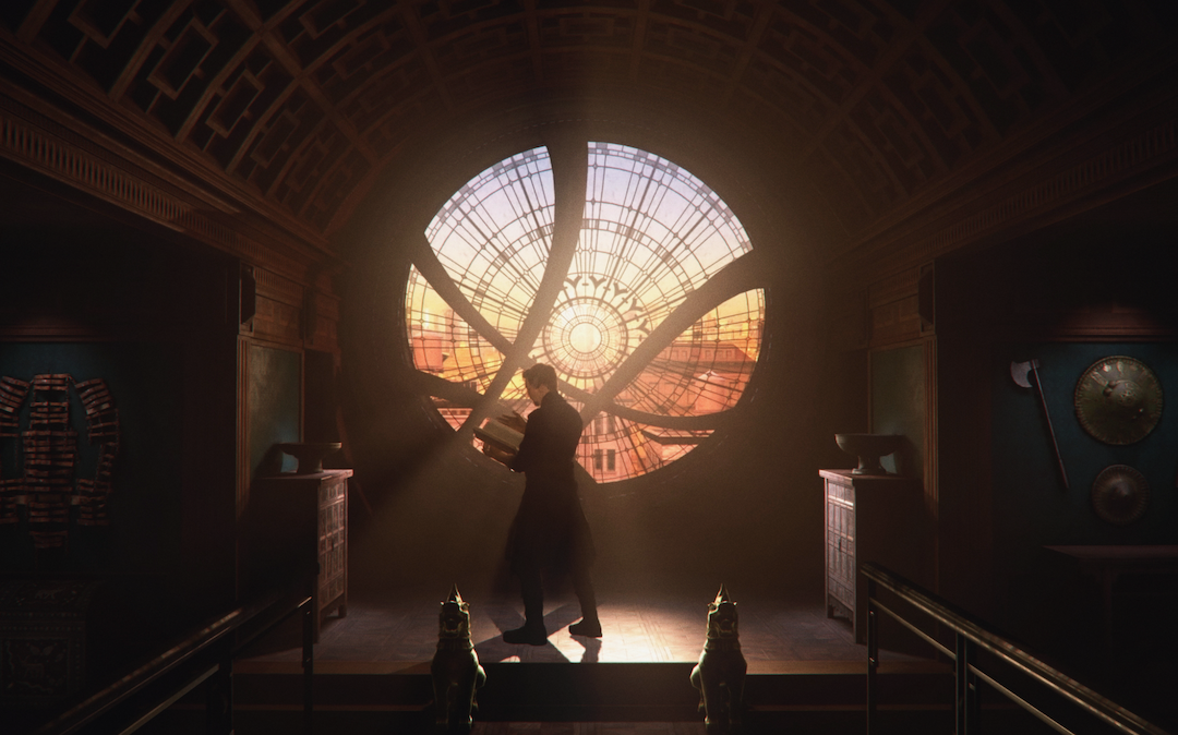 'Avengers: Damage Control' VR experience still of Doctor Strange (Courtesy: ILMxLab)