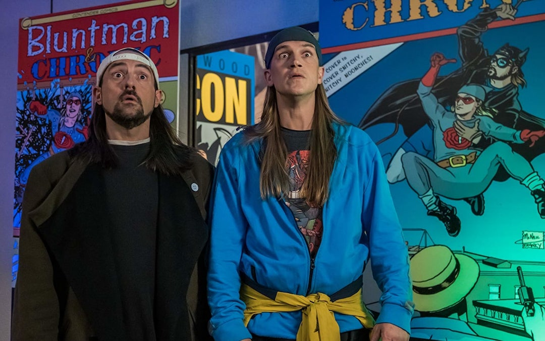 Kevin Smith and Jason Mewes in 'Jay and Silent Bob Reboot' (Courtesy: Fathom Events)