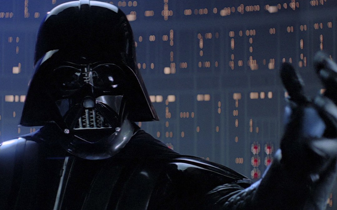 "Darth Vader in the iconic ""I am your father"" scene in 'Star Wars: The Empire Strikes Back' (Courtesy: Disney/Lucasfilm)"