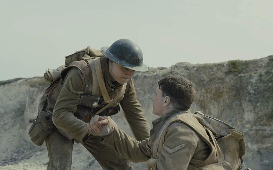George McKay and Dean-Charles Chapman in '1917' (Credit: Universal)