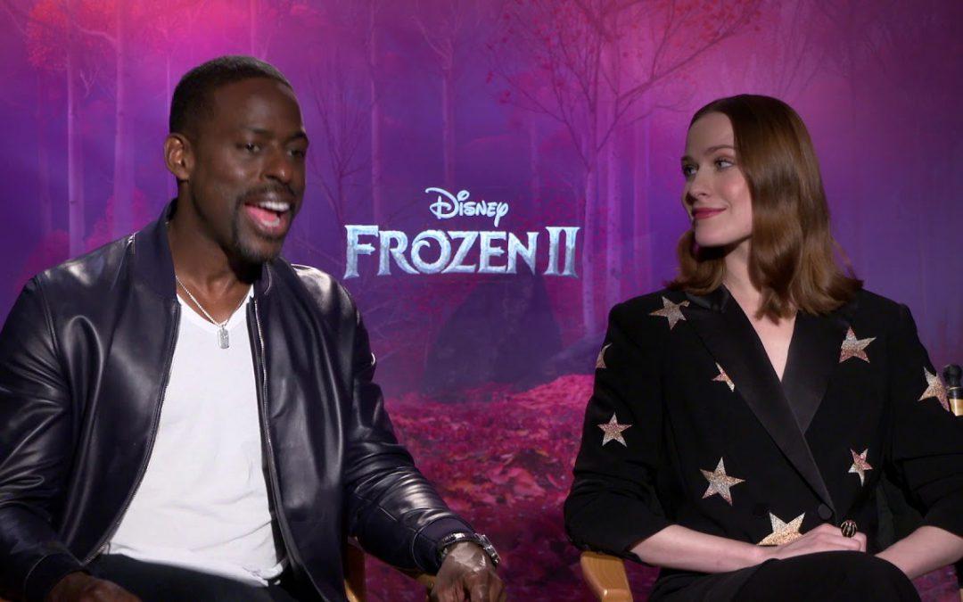 Sterling K. Brown & Evan Rachel Wood – 'Frozen 2' Interview