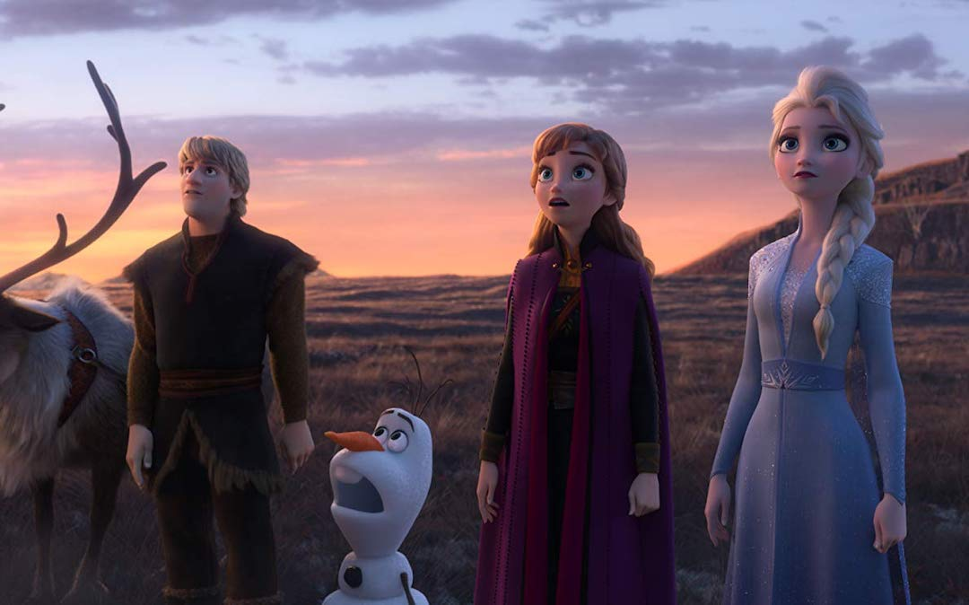 Kristoff (Jonathan Groff), Olaf the Snowman (Josh Gad), Anna (Kristen Bell) and Elsa (Idina Menzel) in 'Frozen 2' (Courtesy: Disney)