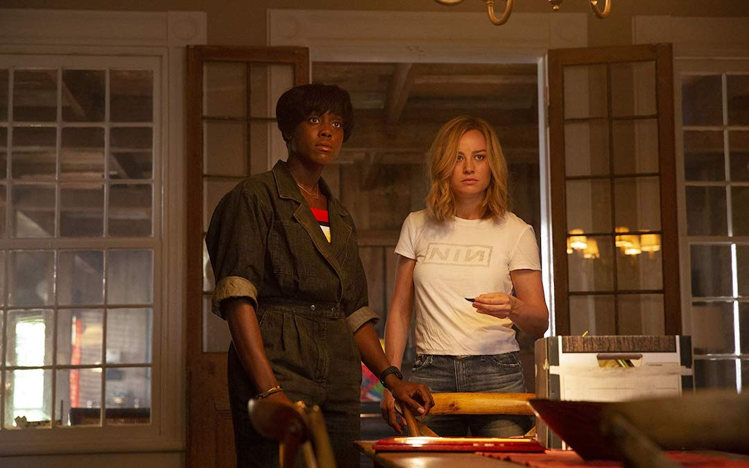 Lashana Lynch and Brie Larson in 'Captain Marvel' (Courtesy: Disney)