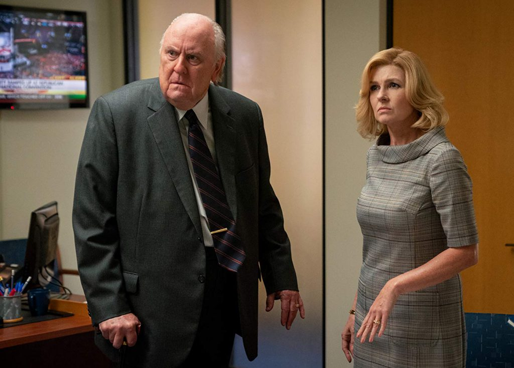 John Lithgow (Roger Ailes) and Connie Britton (Beth Ailes) in 'Bombshell' (Courtesy: Lionsgate)