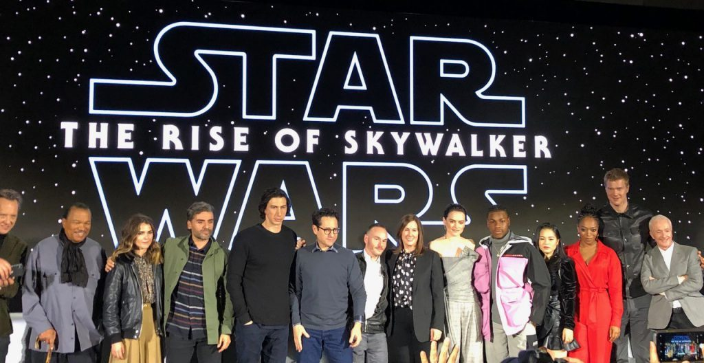 The Best Moments From The Star Wars The Rise Of Skywalker Press Conference Editorial Star Wars