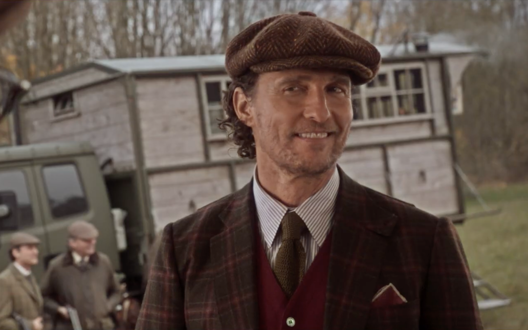 Matthew McConaughey as Mickey Pearson in 'The Gentlemen' (Courtesy: STX Entertainment)