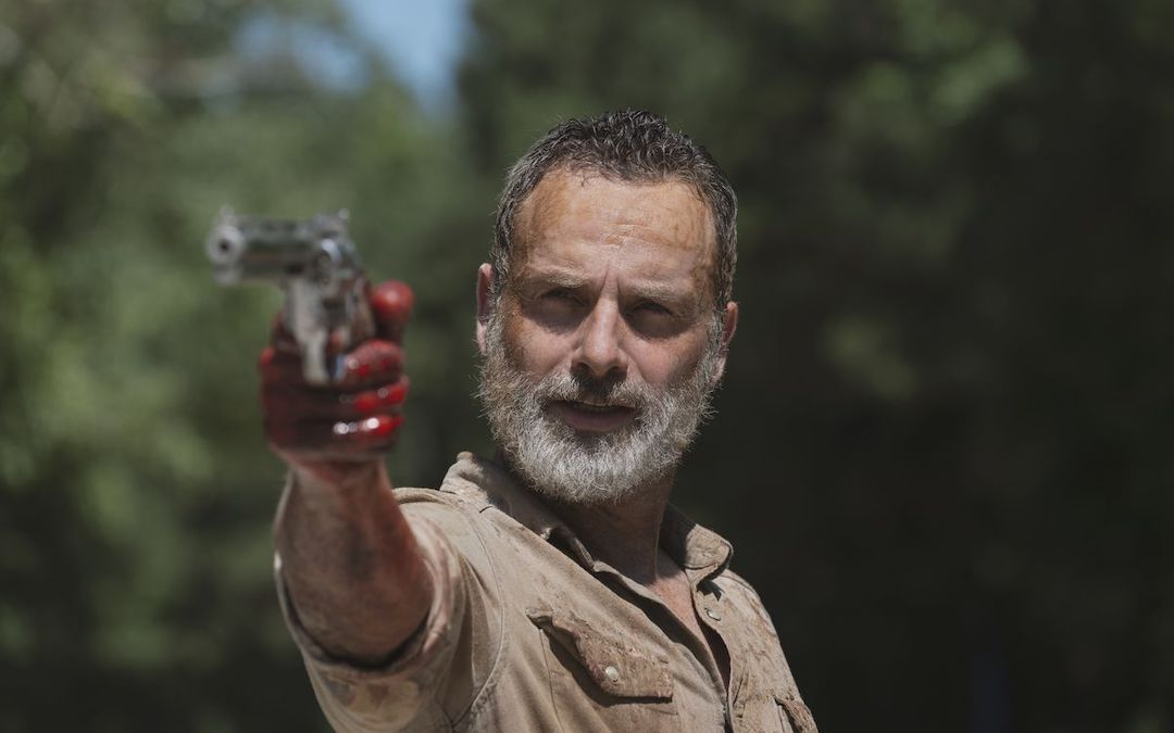 Andrew Lincoln Spotted Training For His 'Walking Dead' Movies…Fingers Crossed