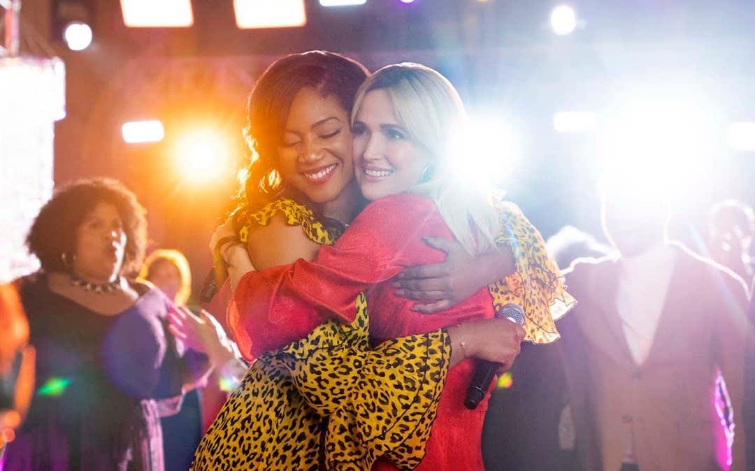 Tiffany Haddish (Mia) and Rose Byrne (Mel) in 'Like a Boss' (Courtesy: Paramount)