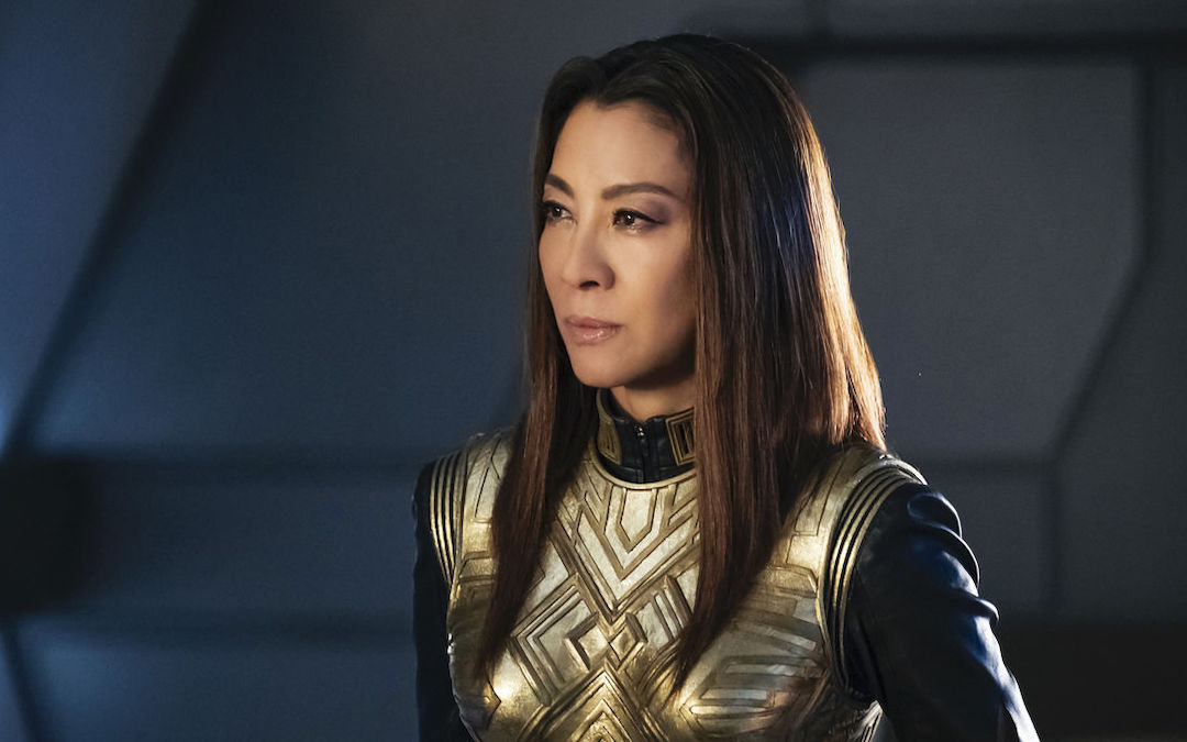 Michelle Yeoh as Captain Philippa Georgiou in 'Star Trek: Discovery' (Courtesy: CBS)