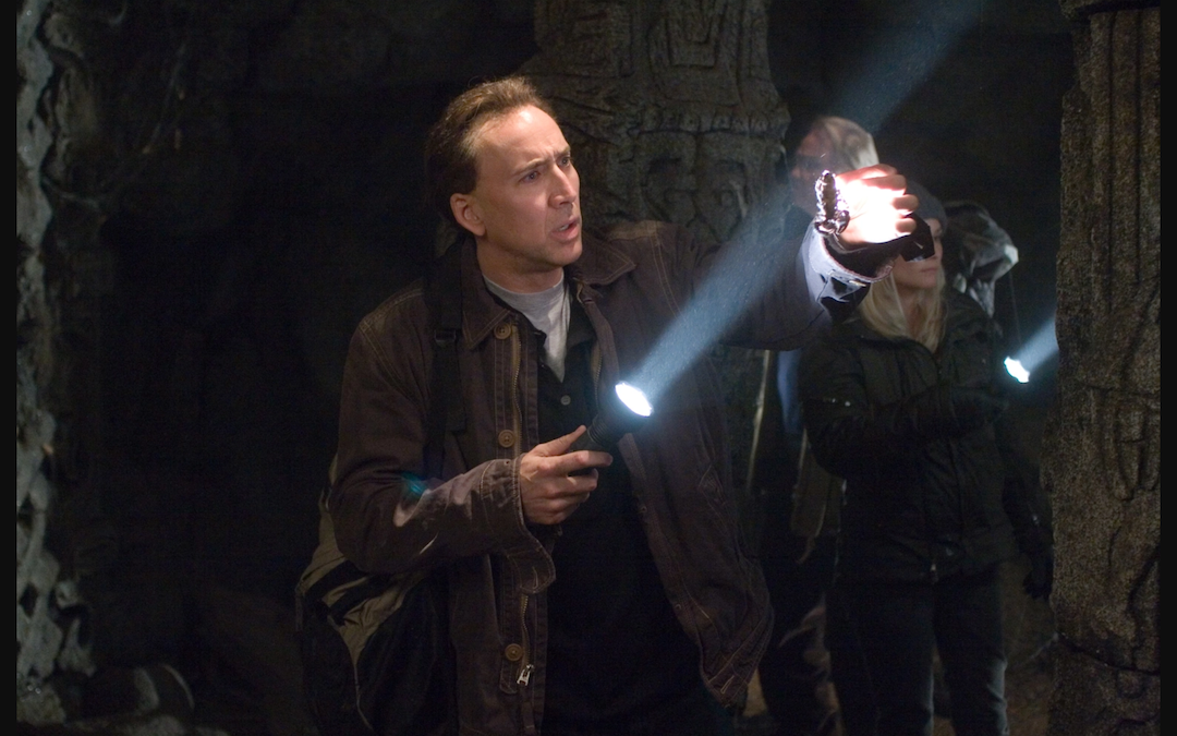 Nic Cage in 'National Treasure' (Courtesy: Disney)