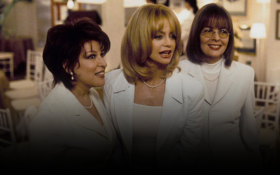 Bette Midler, Goldie Hawn and Diane Keaton in 'First Wives Club'