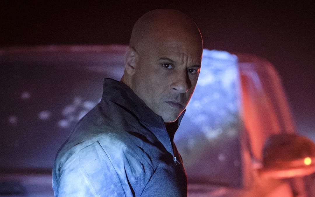 Vin Diesel in 'Bloodshot' (Courtesy: Sony)