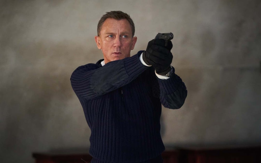 Daniel Craig in 'No Time to Die' (Courtesy: MGM/Universal)