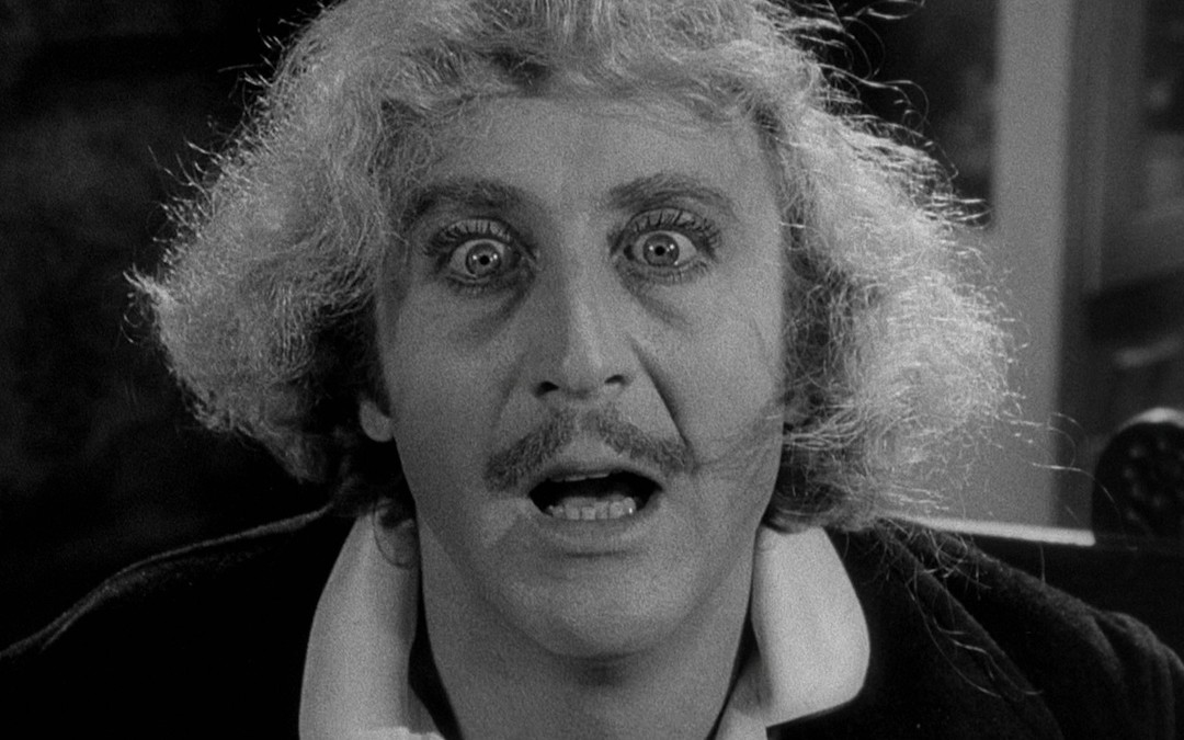 Gene Wilder in 'Young Frankenstein'