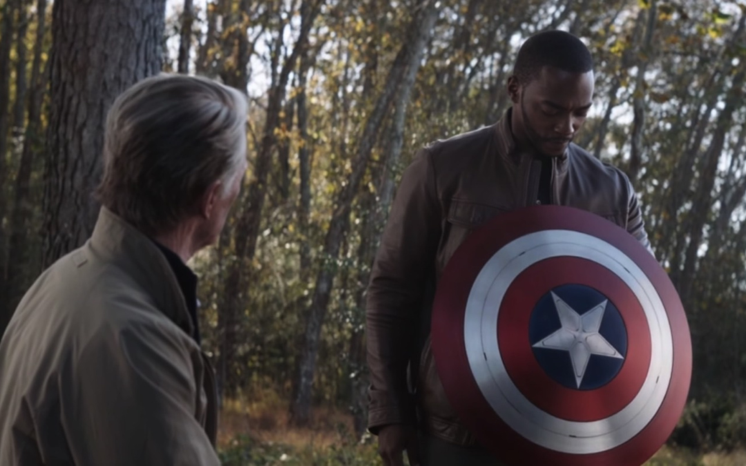 Sebastian Stan Explains Why It Was The Right Call For Sam Wilson To Take Up Cap's Shield | Editorial | Marvel