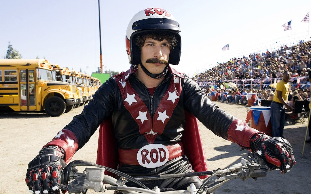 Andy Samberg as Rod Kimble in 'Hot Rod' (2007)