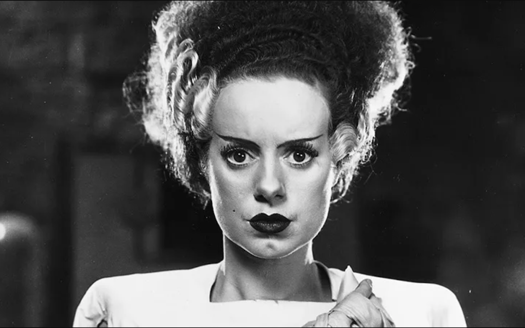 Elsa Lancaster in 1935's 'The Bride of Frankenstein' (Courtesy: Universal Pictures)