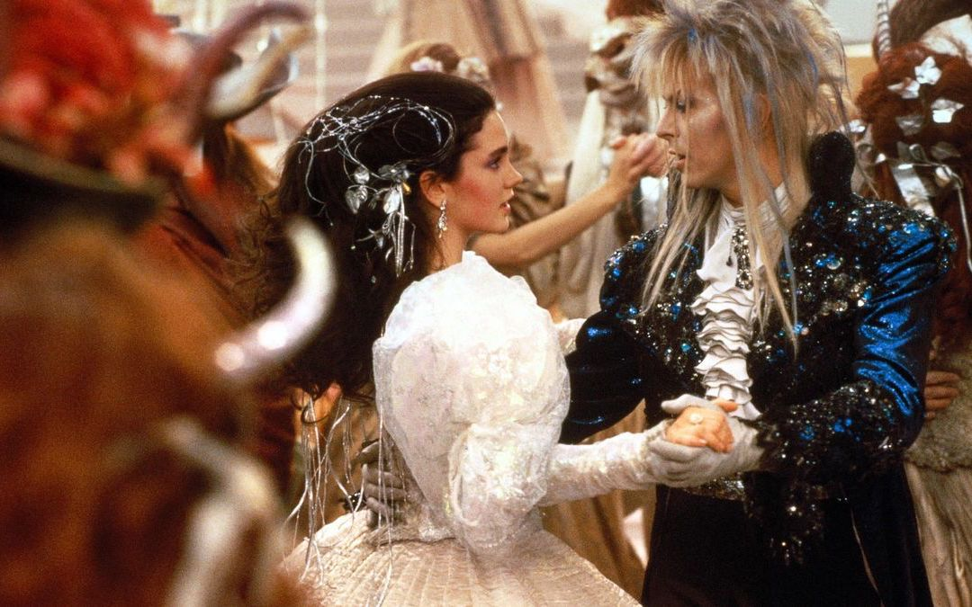 Jennifer Connelly as Sarah and David Bowie as Jareth, the Goblin King, in 'Labyrinth' (Courtesy: The Jim Henson Company)