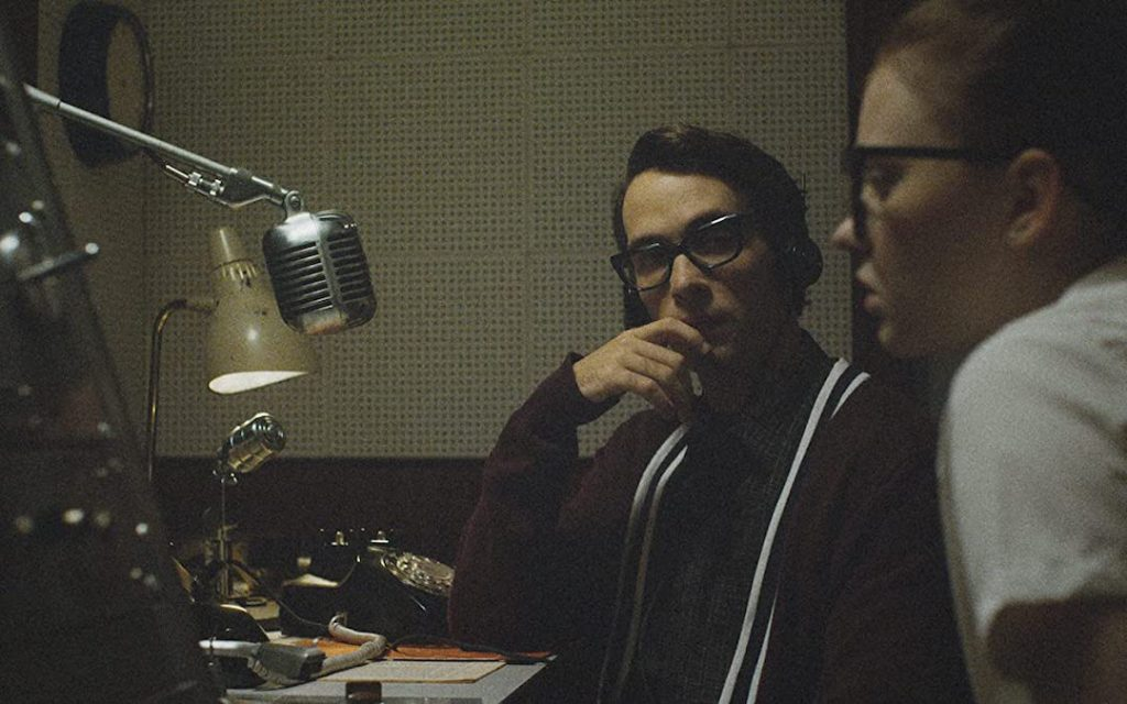 Jake Horowitz as Everett Sloan and Sierra McCormick as Fay Crocker in 'The Vast of NIght' (Courtesy: Amazon Studios)