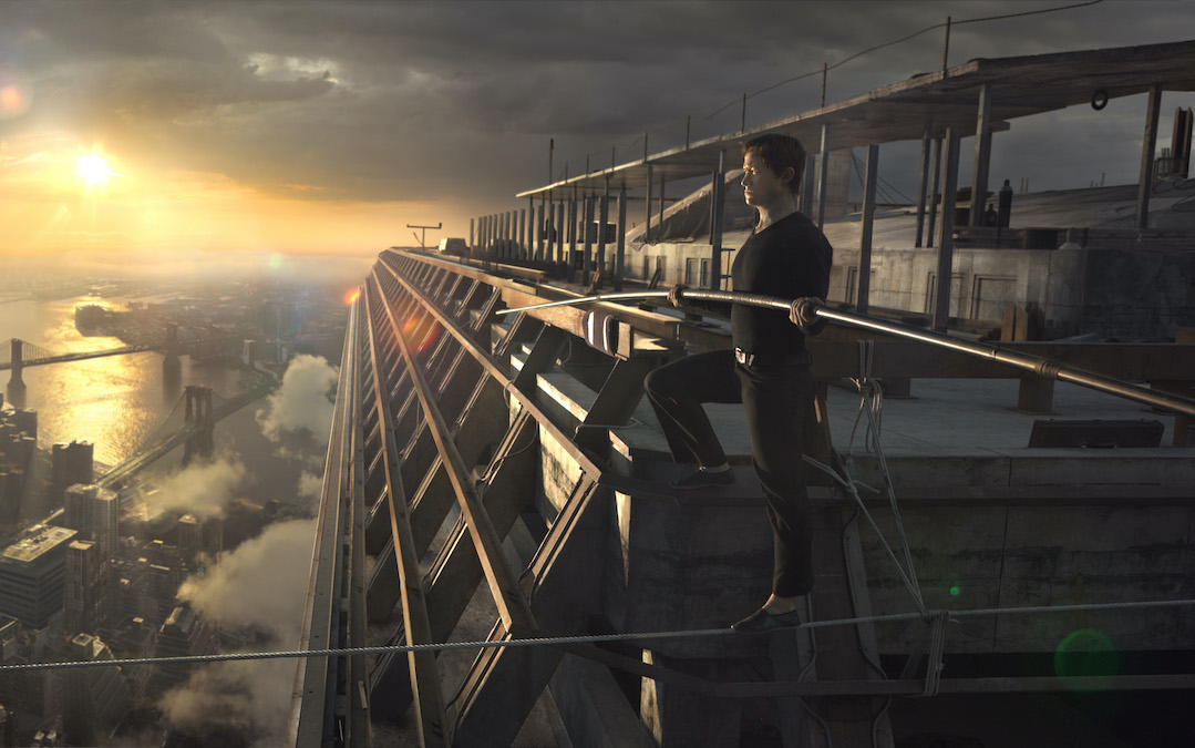 Joseph Gordon-Levitt as Philippe Petit in 'The Walk' (Courtesy: TriStar Pictures)