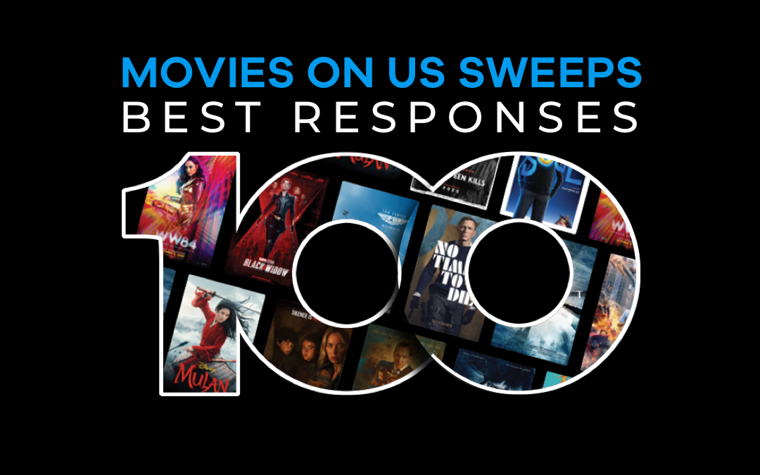 The Best Responses From Our 'Movies On Us' Thank You Sweepstakes
